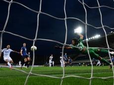 El Inter se asegura el subcampeonato en 20 minutos. AFP