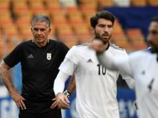 Carlos Queiroz dirige la Selección de Irán desde 2011. AFP
