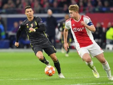 Zidane is also interested in De Ligt. AFP
