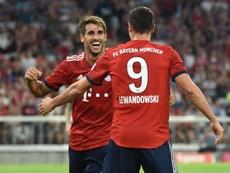 Javi Martínez dejó claro que la llave de su futuro la tiene el Bayern. AFP