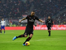 Ibra ilusiona al Milan. AFP