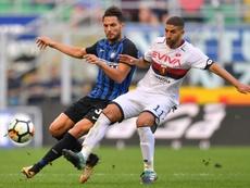 Adel Taarabt no ha jugado en toda la temporada. AFP
