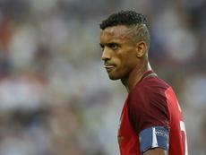 Nani sintió 'escalofríos y tristeza' tras la lesión de Cristiano. AFP