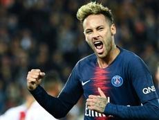 Neymar es uno de los mejores del mundo. AFP