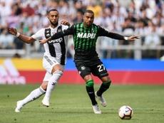 Boateng dejó el Sassuolo tras quince partidos en media temporada. AFP/Archivo