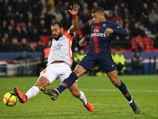 Al final, la Ligue 1 le denegó la petición. AFP