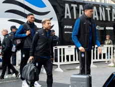 Le formazioni ufficiali di Udinese-Atalanta. AFP