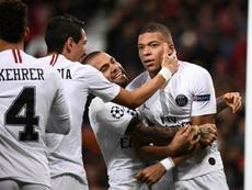 Old Trafford nunca había perdido por más de un gol en Europa. AFP