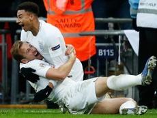 El gol de Lingard no ha estado exento de polémica. AFP