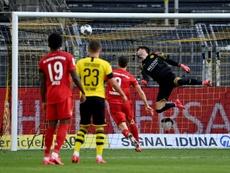 La Bundesliga trabaja con la idea de reabrir al público el 11 de septiembre. AFP
