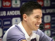 Narsi fue presentado como nuevo jugador del Anderlecht. AFP