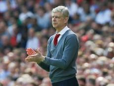 Arsène Wenger habló de su futuro. AFP