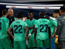 Zinedine Zidane évoque la marche à suivre. AFP
