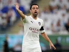Xavi estreará como técnico em contra time espanhol. AFP