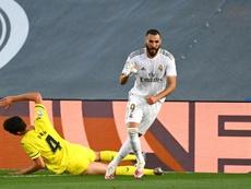 Berbatov elogió a Karim Benzema. AFP