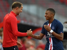 Mbappe has no plans to renew his PSG contract. AFP