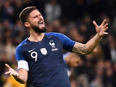 Olivier Giroud é desejo de diversos clubes europeus. AFP