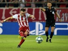 Valbuena a rejoint l'Olympiakos grâce à... Anigo ! AFP