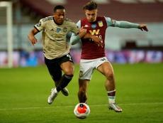 Grealish pode mudar de clube na Premier League. AFP