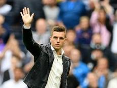 Lo Celso continuará en el Tottenham. AFP
