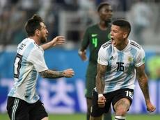 La victoria de la 'Albiceleste' trajo un buen número de 'celebraciones'. AFP