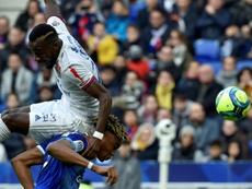 Zohi neutralizó el gol de Traoré. AFP