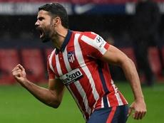 Diego Costa podría irse al Arsenal. AFP