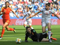 La cuatrilliza asturiana que impresionó en el Mundial. AFP