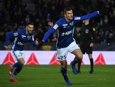 Les compos probables du match de Ligue 1 entre Strasbourg et Reims. AFP