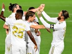 Os intocáveis de Zidane. AFP