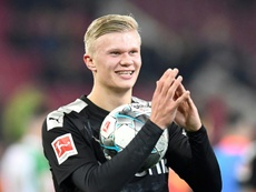 Dortmund a fait de gros sacrifices pour s'offrir Haaland. AFP