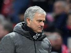 Mourinho quiso hablar sobre el VAR. AFP