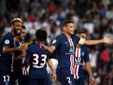 Thiago Silva pourrait prolonger. AFP