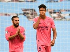 Varane recordó sus fallos frente al City. AFP