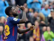 El Barça descarta por ahora el quirófano. AFP