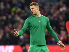 Neuer quiere un megacontrato a sus 34 años. AFP