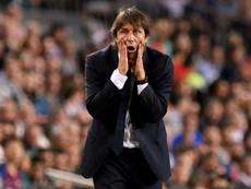 Antonio Conte has receiving threatening mail in the post. AFP