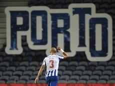 Pepe criticó la actuación del colegiado en el City-Oporto. AFP