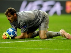 Dembele said that Porto tried to get Casillas to play. AFP