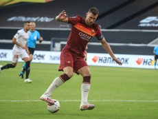 La Roma quiere blindar a Dzeko. AFP