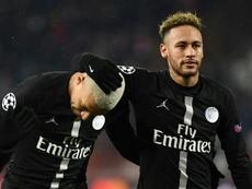 Neymar sigue sonando para vestir de blanco. AFP
