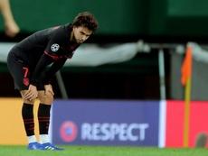 El Atlético agradeció a su afición el apoyo recibido. AFP
