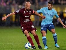 El Metz volvió a tropezar en el debut de Ben Yedder. AFP