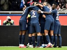 Les plus beaux buts du PSG en Ligue 1 cette saison. AFP