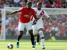 Pogba reçoit les avertissements des supporters de Manchester United. AFP