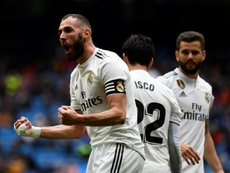 Benzema is in incredible form for Real Madrid. EFE