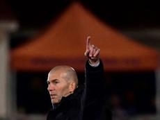 El Madrid de Zidane es el nuevo líder de Primera. AFP/Archivo