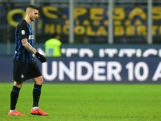 Mauro Icardi seems like he will be forced to leave Inter. AFP/Archivo