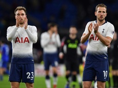 El Tottenham cree que puede retener a Eriksen. AFP