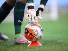 La UEFA, severa. AFP